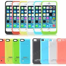 iPhone 5 5S 5C Portable External Power Bank Battery Charger Rechargeable Case UK