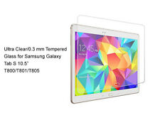 """For Samsung Galaxy Tab S 10.5""""  Ultra Clear/Tempered Glass screen protector Film"""
