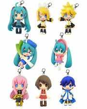 Miku Vocaloid Color Colle 4cm mascot bag charm keychain Movic Luka Rin Len IN UK