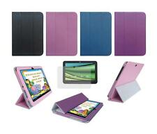 Folio Skin Cover Case and Screen Protector for Toshiba Excite AT205 AT200 Tablet