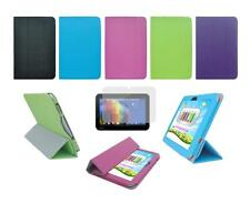 Folio Skin Cover Case and Screen Protector for Toshiba Excite Pure AT15-A16