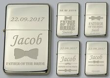 FATHER OF THE BRIDE Personalised LIGHTER  - FREE Engraved - WEDDING GIFT