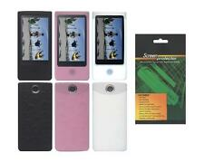 Soft Skin Cover Case and Screen Protector for Sony Bloggie Touch MHS-TS10 / TS20