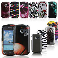 Color Solid Rubberized HARD Snap On Cover Case for Samsung Galaxy Centura S738C