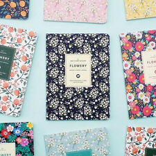 [Flowery Monthly Journal_Small] Diary Scheduler Journal Monthly Weekly Planner
