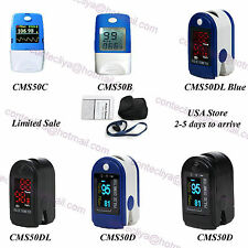 2017 CE&FDA FingerTip Pulse Oximeter,blood Oxygen Monitor SpO2 PR,USA Stock,Case