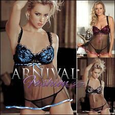 NEW SEXY PADDED LINGERIE SET babydoll camisole g string panties set LACY OUTFIT
