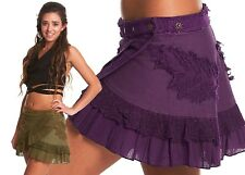 STEAMPUNK SKIRT, elf fairy skirt, pixie skirt, GEKKO skirt, festival clothing