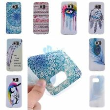 ULTRA THIN Fashion Rubber Soft TPU Back Cover Case Skin For Samsung Galaxy Model