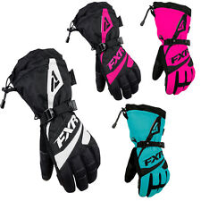 2016 FXR Women's Snowmobile Waterproof & Insulated Fusion Gloves Size XS-XL