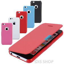 Ultra Slim Leather Magnetic Flip Case Cover Skin Guard Shield For iPhone 5 5C 6