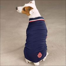 Zack & Zoey Nautical Navy Blue Polo Dog Pet Puppy Shirt  Tee Various Sizes NEW
