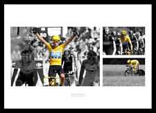 Bradley Wiggins 2012 Tour de France Spot Colour Photo Montage (SPTMU1)