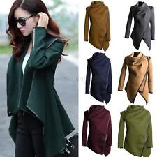 Womens Warm Wool Slim Long Trench Parka Peacoat Outwear Overcoat Coat Jacket B21