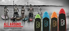 AQUA MARINA SUP STAND UP PADDLE BOARD INFLATABLE PUMP PADDLE SURFBOARD INFLATAB