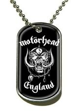 Motorhead England Dog Tag - NEW & OFFICIAL