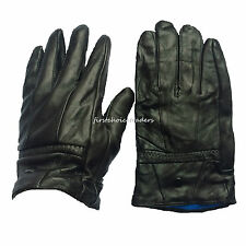 Men Leather Gloves Thinsulate Fully Lined Warm Winter Gloves For Walking/Driving