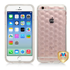 Transparent Glassy Clear Snap On Cover Protector Phone Case Apple iPhone 6 6s