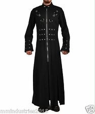MEN HELL RAISER GOTHIC PUNK INDUSTRIAL VAMPIRE GOTH JACKET TRENCH COAT