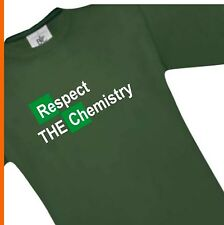 T-Shirt Breaking Bad White Cook Chemistry Walter cult, ManT03024, size: S-XXXL