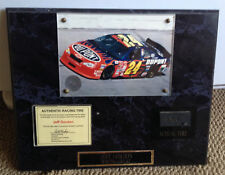 Racing Reflections Winston Cup Race Tire Jeff Gordon Plaque NASCAR Big Apple