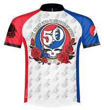 Primal Wear Grateful Dead 50th Anniversary Cycling Jersey Mens +sox bike bicycle