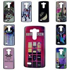 Thin Slim Fashion Embossed Print Hard Back Cover Skin Case For L90 G3 G4 & Mini