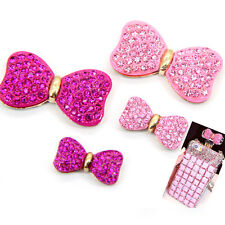 Flat Back Resin DIY Mobile Phone Case Shell Decoration Bow Tie