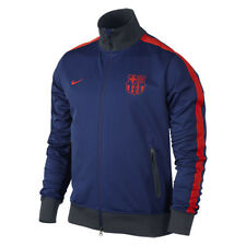 NIKE FC BARCELONA AUTHENTIC PLAYERS ISSUE STORM-FIT N98 JACKET CHAMPIONS LEAGUE.