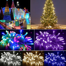 New 200/300/500 Leds Christmas Tree Fairy Colorful String Party Lights Lamp Xmas