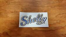 SHELBY BICYCLE AIRFLOW HORN TANK DECAL NEVER USED VINTAGE