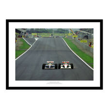 Ayrton Senna & Nigel Mansell 1991 Formula One Motorsport Photo Memorabilia (767)