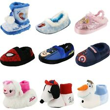 YOUTH/KIDS/GIRLS/BOYS TV MOVIES CARTOON CHARACTER SLIPPERS SHOES
