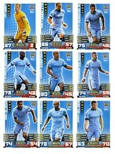 Match Attax 2014/15 Trading Cards (Manchester City-Base Set) All 17 Cards