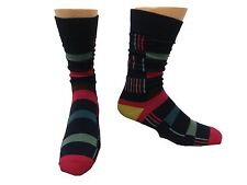Stacy Adams Navy Dual Stripe Socks