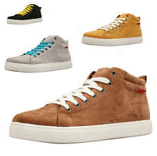 2016 Men's Fashion Breathable Canvas Board Shoes Casual High Top Sneaker Lace Up