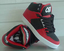 Osiris Shoes NYC 83  VLC -  Lifestyle High Top Skate  -  RED/CHAR