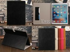 Folio Leather Stand Flip Card Slot Smart Case Cover For Apple iPad Pro 12.9''