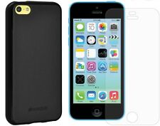 AMZER TPU PUDDIN SOFT SKIN CASE FOR APPLE iPHONE 5C WITH FREE SCREEN PROTECTOR