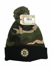 American Needle Camo Green/Black Brooklyn Nets Pom Beanie