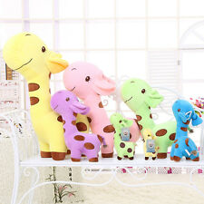 Fashion Cute Plush Giraffe Toy Animal Dear Doll Baby Children Birthday Xmas Gift