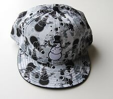 New Era 59FIFTY Fitted Dasher Snowman Cap white/black/Grey