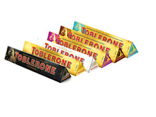 Toblerone Chocolate Giant 360g Bars Milk, Dark, White, Fruit & Nut Mix and Match