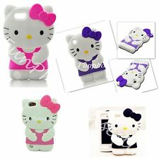 Hello Kitty iPod Touch 5 5th Gen Case Cute Pink Purple Black Silicone Covers UK