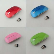 1600DPI Wireless Optical Mouse 2.4GHz Quality Mice USB 2.0 for PC Laptop 10m USA