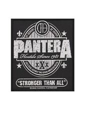 Pantera Stronger Than All Black Patch