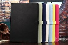 Folio Stand Leather Smart Case Cover For Apple iPad Pro 12.9'' +Screen Protector