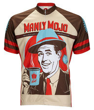 Manly Mojo Coffee Cycling Jersey World Jerseys Men's with Socks bike bicycle