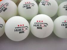 200Pcs 3-Stars 40mm Olympic Table Tennis Balls Ping pong Ball Orange and White