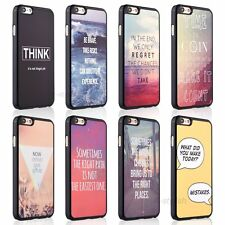 Life Inspiration Quotes Hard Cover Skin Case For Apple iPhone 6 6s Plus + Film